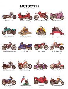 Motyw motocykle