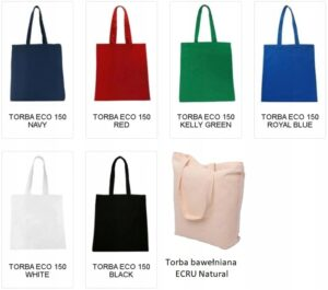Eco torby na zakupy